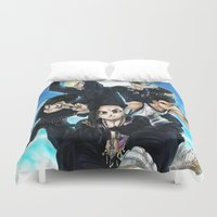 dbz Duvet Covers featuring + BigBangZ + by MitsuBlinger