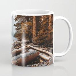 Moraine Lake at banff Coffee Mug