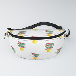 Lemon chilli charm Fanny Pack