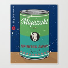 Spirited Away - Miyazaki - Special Soup Series  Canvas Print