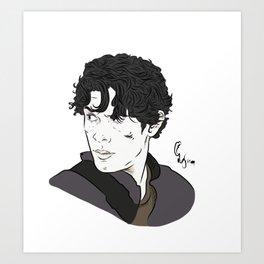 Bellamy Art Print
