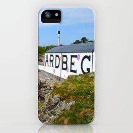 Ardbeg Distillery in Islay iPhone Case