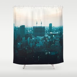 Osaka morning Shower Curtain