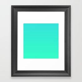 Gradient - Gubi Framed Art Print