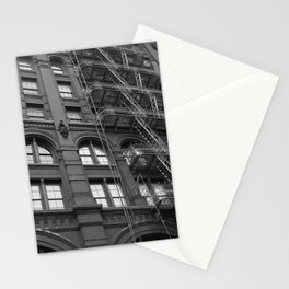 Windows and Stairs Stationery Cards