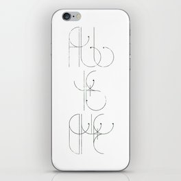 All Is One iPhone Skin