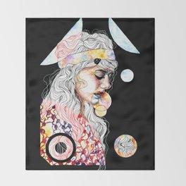 Opium Throw Blanket