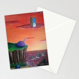 alternative sunset Stationery Cards