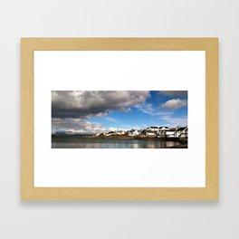 Bowmore Harbour Framed Art Print