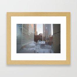 Chicago Morning Framed Art Print