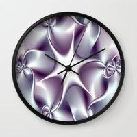 tiffany Wall Clocks featuring Tiffany by Imagevixen