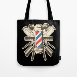 Barber Accessories | Beard Hairdresser Tote Bag