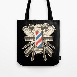 Barber Accessories | Beard Hairdresser Tote Bag