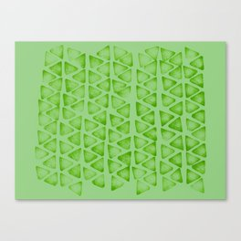Irregular green Canvas Print