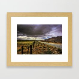Road To Palm Springs Framed Art Print