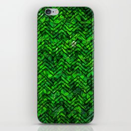 Don't leaf me iPhone Skin