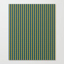 Gold Chain Curtain Canvas Print