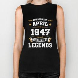April 1947 71 the birth of Legends Biker Tank