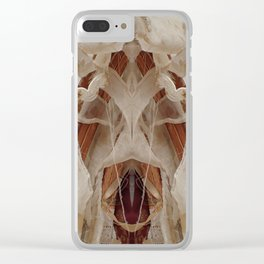 153 The Mad Seamstress Clear iPhone Case