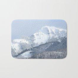 White Mountain in Wolfgangsee Bath Mat