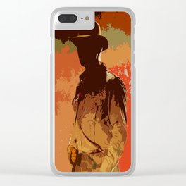Indiana Camo Clear iPhone Case