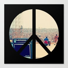 Woodstock 69 Canvas Print
