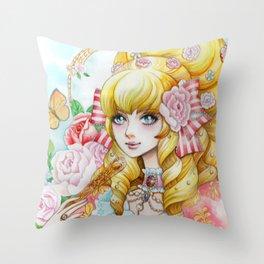 Roseprincess Throw Pillow