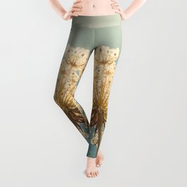 Queen Anne's Lace Leggings
