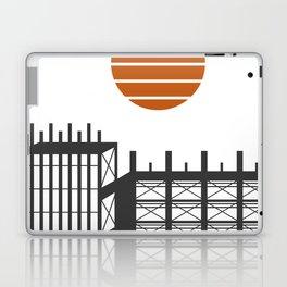 City in construction Laptop & iPad Skin