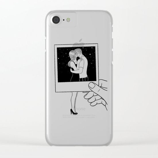We used to be together Clear iPhone Case
