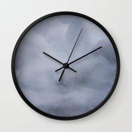 Snowdrift Wall Clock