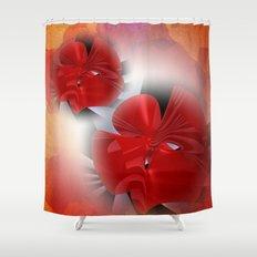 Les fleurs de la mathématique -5- Shower Curtain
