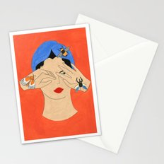 Insects & Turban Stationery Cards