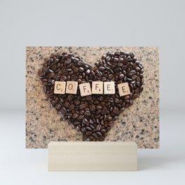 Love Coffee Mini Art Print