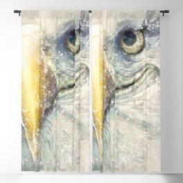 The Portrait of an Eagle Bald Blackout Curtain