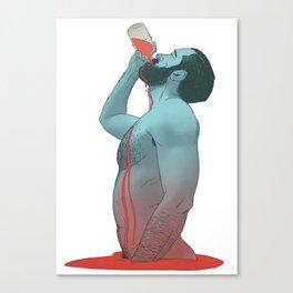 IMMORTAL BLOOD Canvas Print