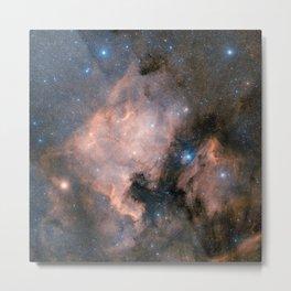 Hubble Space Telescope - The North America Nebula (ground-based image) Metal Print