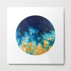 Abstract planet Metal Print