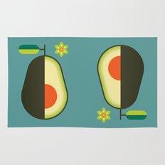Fruit: Avocado Rug