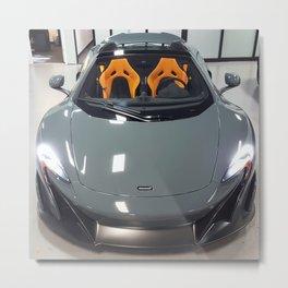 New Delivery McLaren 675LT Spider Metal Print