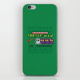 Hero in a Pac-Shell (Mikey) iPhone Skin