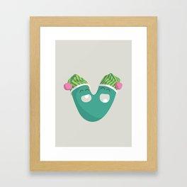 letter V Framed Art Print