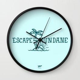 Escape the Mundane Wall Clock