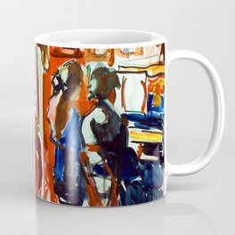 Frances Hodgkins Piano Lesson Coffee Mug