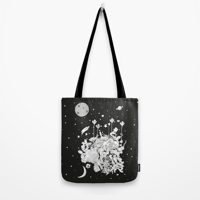 Comic World Tote Bag