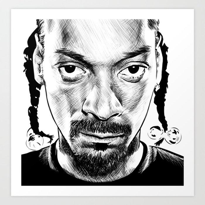 Hip hop - snoop Dogg Kunstdrucke