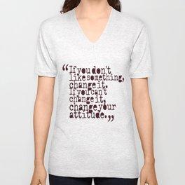 Quote Shirt Unisex V-Neck