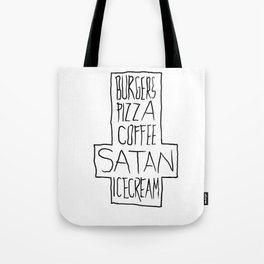 pizza & moar Tote Bag