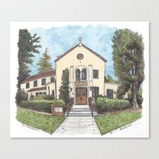 Davis Community Church Canvas Print
