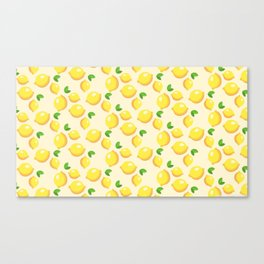 Lemon limon seamless art colour lines triangle look rest eyes color new artist fun mixed pattern swe Canvas Print